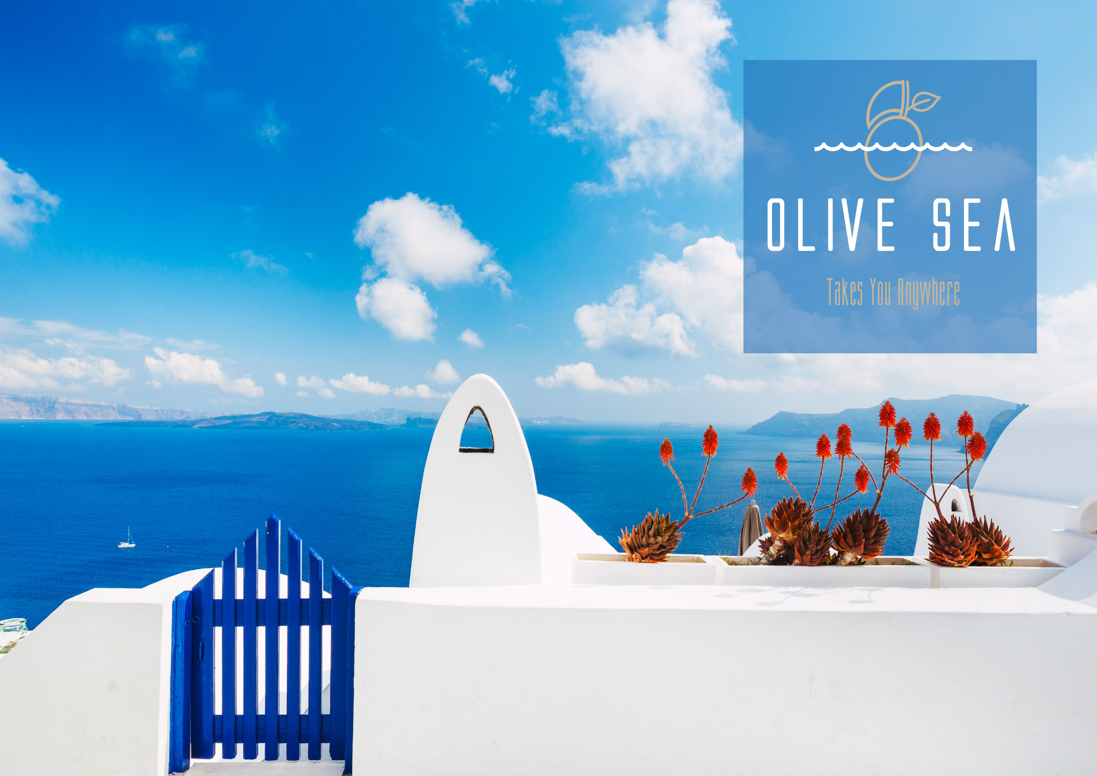 Olive Sea διαφήμιση αφίσα