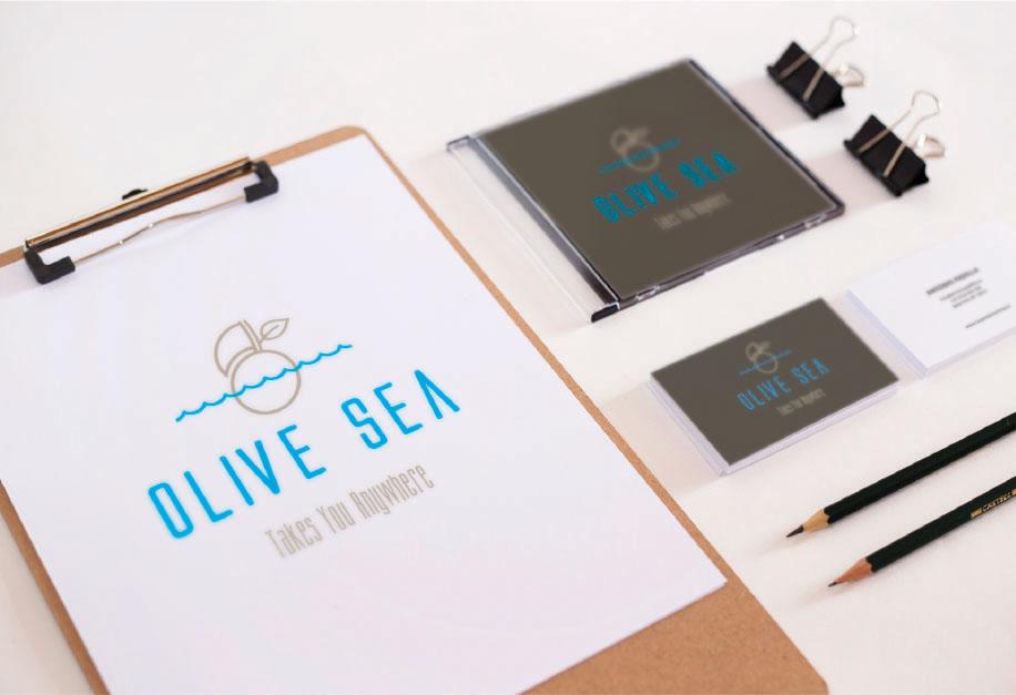 Olive Sea Εταιρική Ταυτότητα