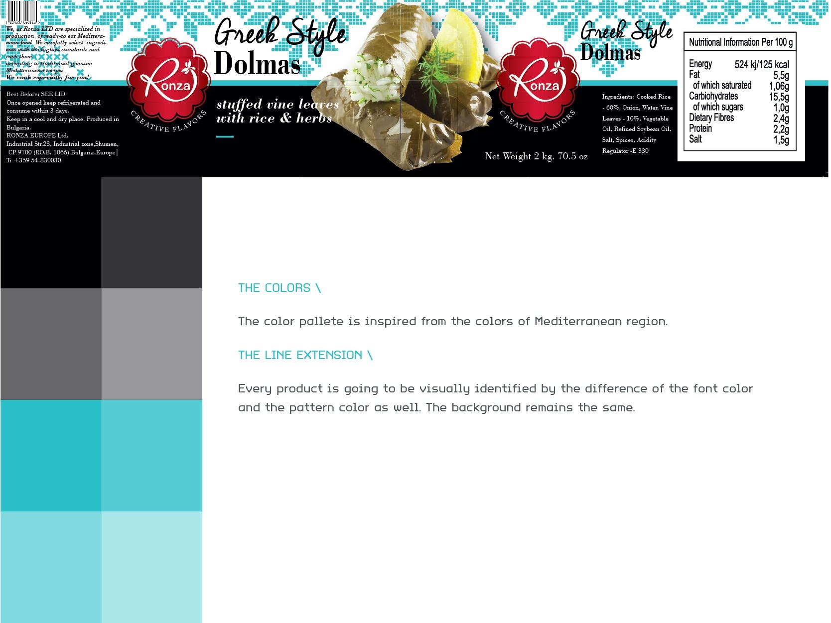 RonzaLTD Vine Leaves with Rice Packaging Presentation-07