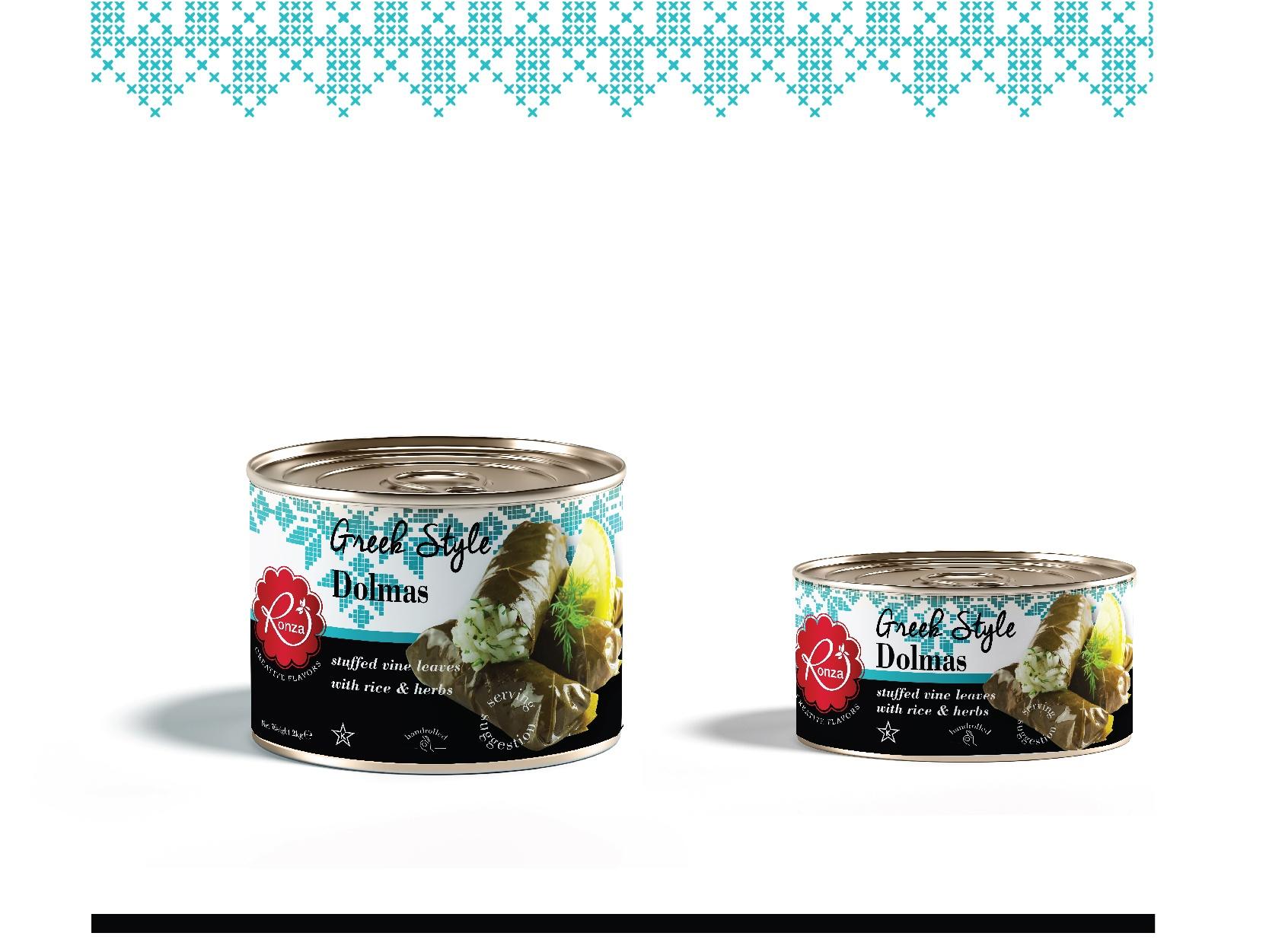 RonzaLTD Vine Leaves with Rice Packaging Presentation-08