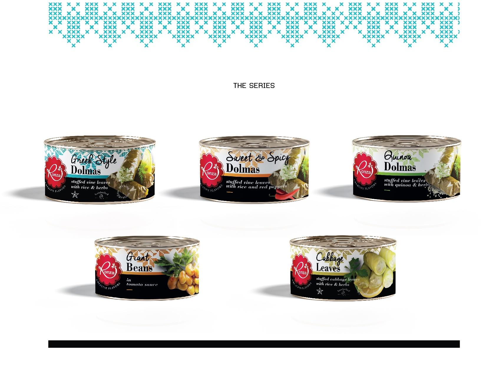 RonzaLTD Vine Leaves with Rice Packaging Presentation-15